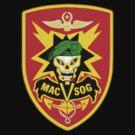 Macv-Sog Patch by Walter Colvin