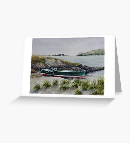 Two Little Boats Greeting Card