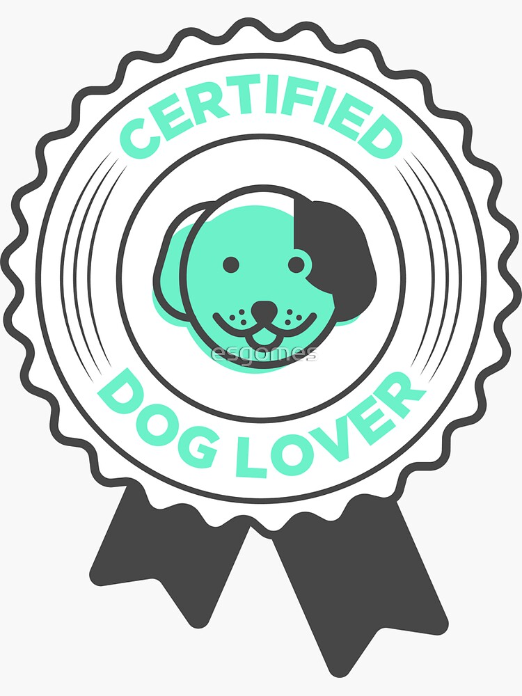 Funny Dog Lover Badge by esgomes