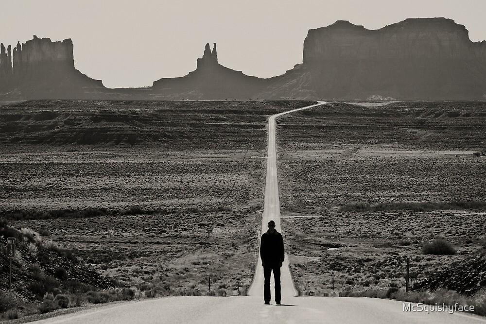 Self Portrait, Monument Valley, Utah by McSquishyface