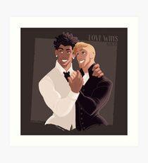 LOVE WINS 01 Art Print