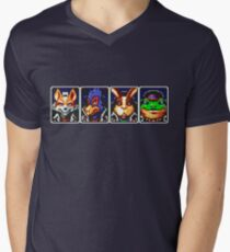 Team Star Fox Men's V-Neck T-Shirt