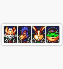 Team Star Fox Sticker