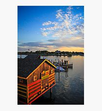 Dockside Photographic Print