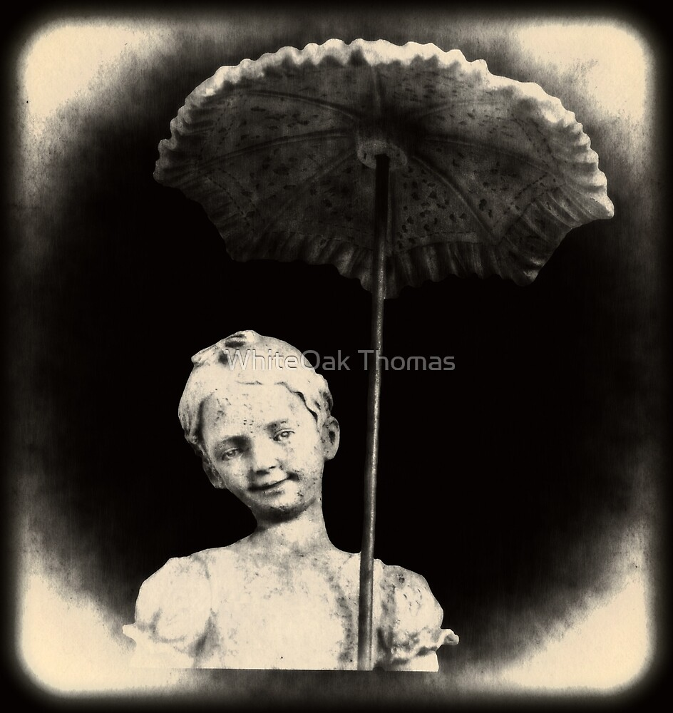 Little Goth Girl with Umbrella by WhiteOak Thomas