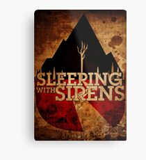 Sleeping with Sirens Metal Print