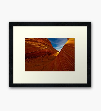 On The Wings of an Angel Framed Print
