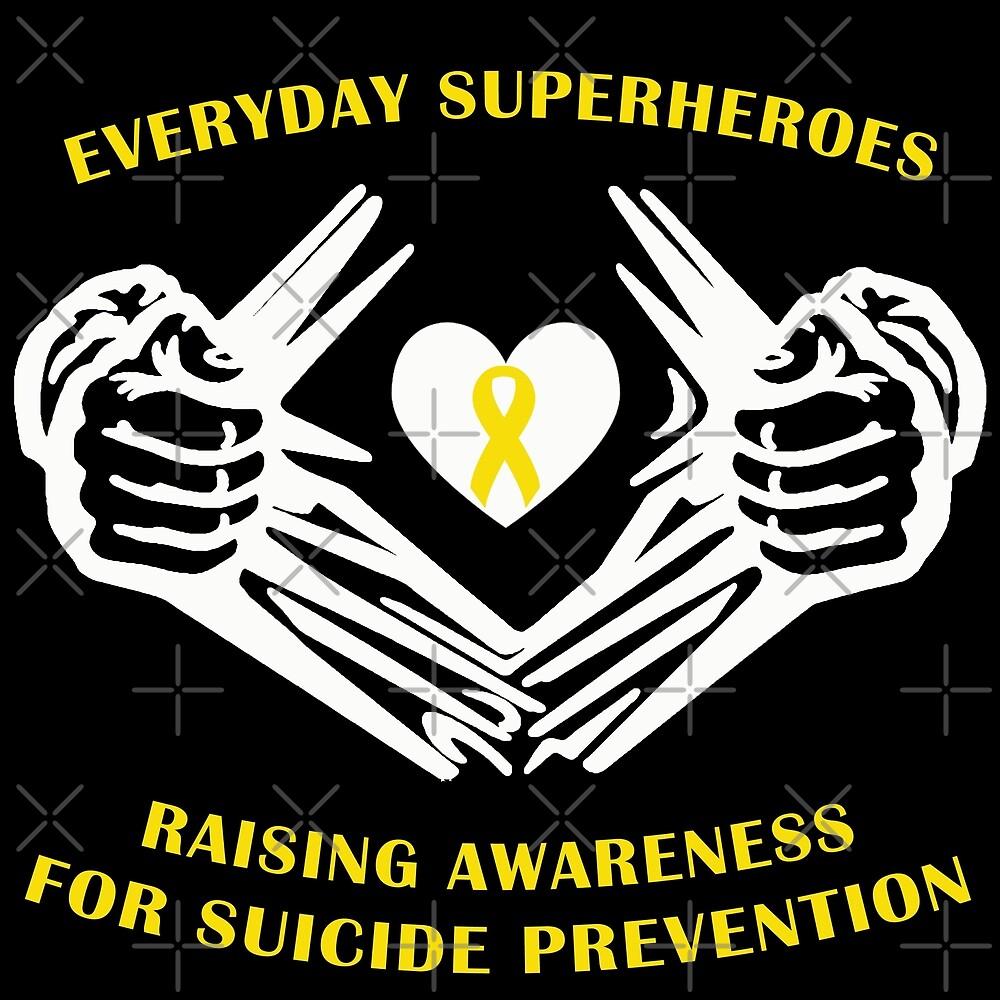 Suicide Awareness Superheroes by Nisa Katz