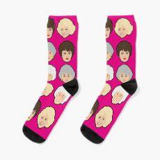 Sock The Golden Girls Pink Socks