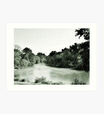 Des Plaines River, Riverside, IL Art Print