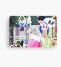 Parade Princesses Canvas Print