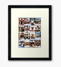 Doors of Riverside Illinois Framed Print
