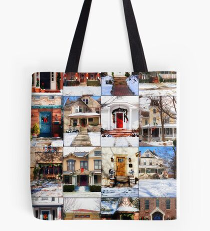 Doors of Riverside Illinois Tote Bag