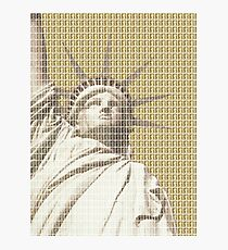 Liberty on Gold Photographic Print
