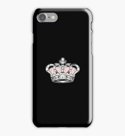 Crown - Pink 2 iPhone Case/Skin