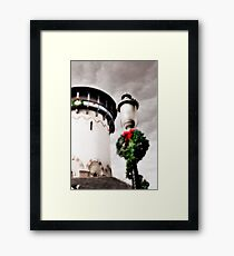 Holiday Water Tower, Riverside, Illinois Framed Print