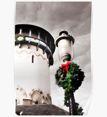 Holiday Water Tower, Riverside, Illinois Poster