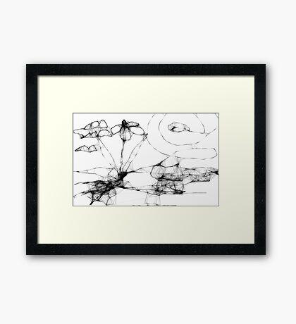 30 second  landscape Framed Print