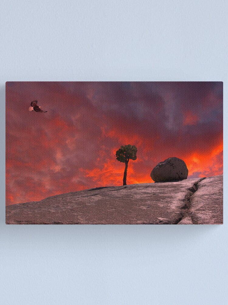 Alternate view of The Passion of Nature Canvas Print