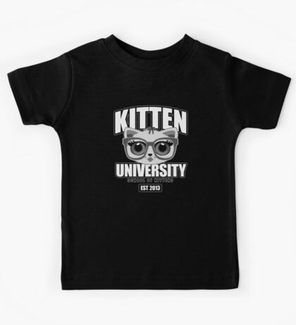 Kitten University - Grey 2 Kids Clothes