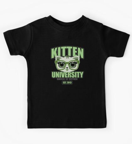 Kitten University - Green 2 Kids Clothes