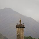 Glenfinnan Monument 2 (Loch Shiel, Glenfinnan, Scotland) by Yannik Hay