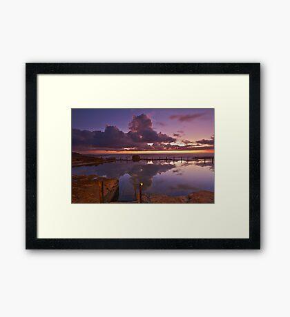 Reflective Mahon Framed Print