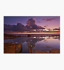 Reflective Mahon Photographic Print