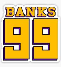 Adam Banks Sticker