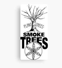 Smoke Trees Canvas Print