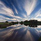 Clouds as brush strokes by Akif  Kaynak