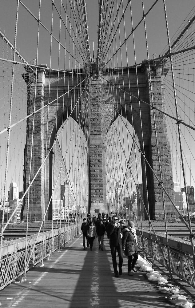 Brooklyn Bridge by 14kutlin