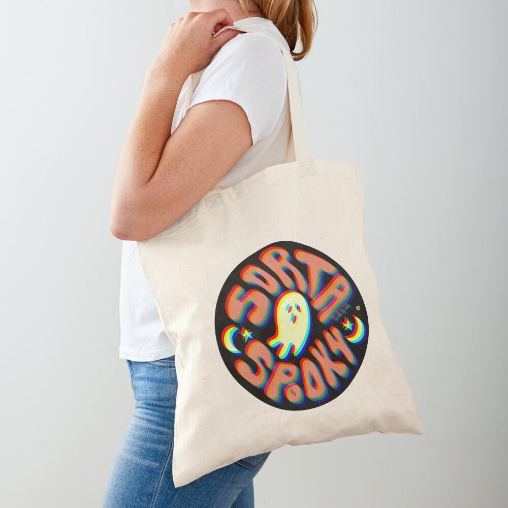 Sorta Spooky © 3D Tote Bag