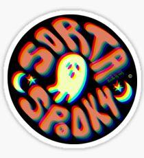 Sorta Spooky © 3D Sticker