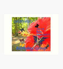 Feature Fairy Art Print