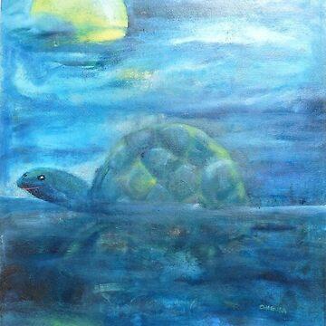 Sea Turtle  by romiyrerruchigu