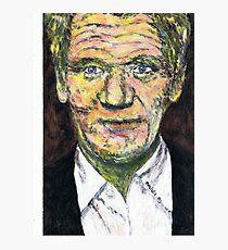 Portrait of Gordon Ramsey Photographic Print