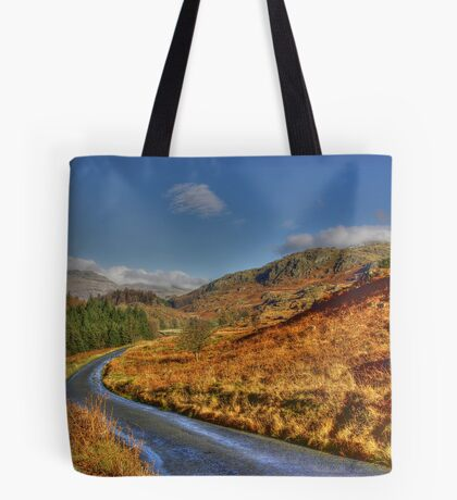 Duddon Valley Road  - Lake District Tote Bag