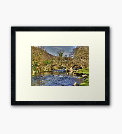 River Duddon Bridge - Lake District Framed Print