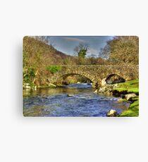 River Duddon Bridge - Lake District Canvas Print