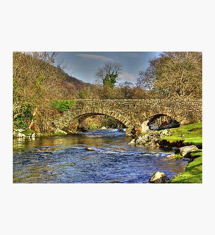 River Duddon Bridge - Lake District Photographic Print