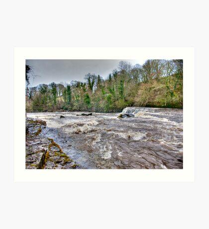 River Ure - Aysgarth-Yorks Dales Art Print