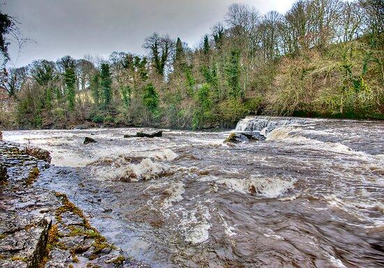 River Ure - Aysgarth-Yorks Dales by Trevor Kersley