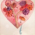 Raining in my heart by Ali Brown