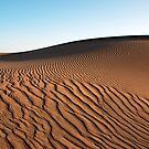 Saharan Dune by Christopher Cullen