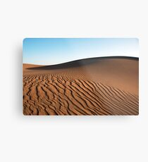 Saharan Dune Metal Print