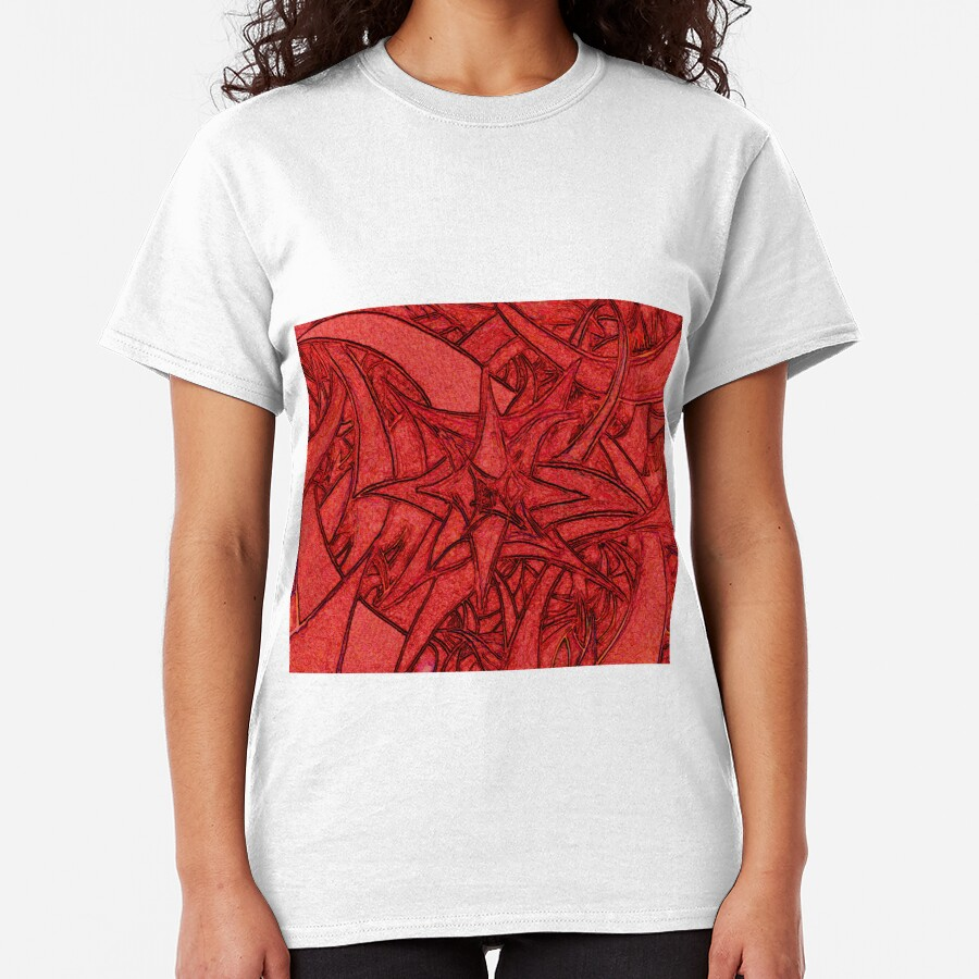 Unknown Internal Vision [Abstract #56] RED Classic T-Shirt