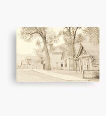 Bannack Historic District Canvas Print