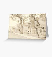 Bannack Historic District Greeting Card