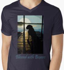 Sunrise With Molly Men's V-Neck T-Shirt